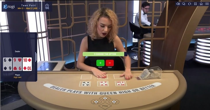 How to Play Teen Patti Live step 3