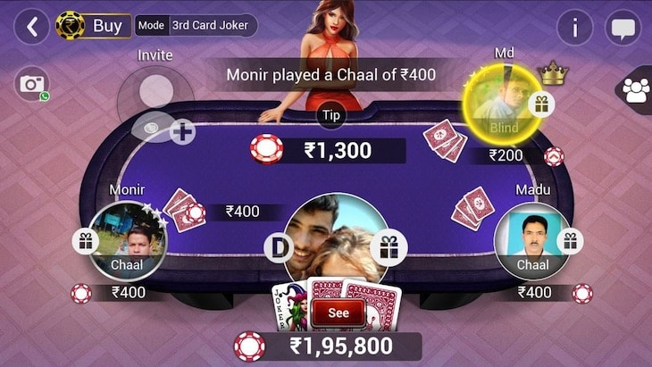 Teen Patti Apps