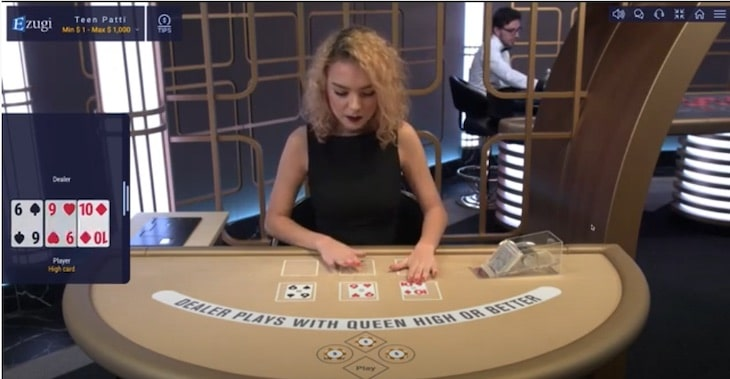 How to Play Teen Patti Live step 2